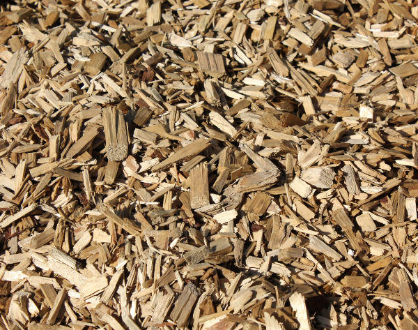 Playground wood chips for commercial and residential use