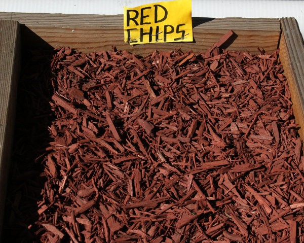 Redwood Bark Chips ~ Redwood chips help improve soil conditions