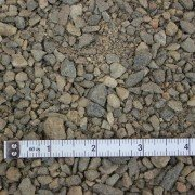three eights inch gravel close up