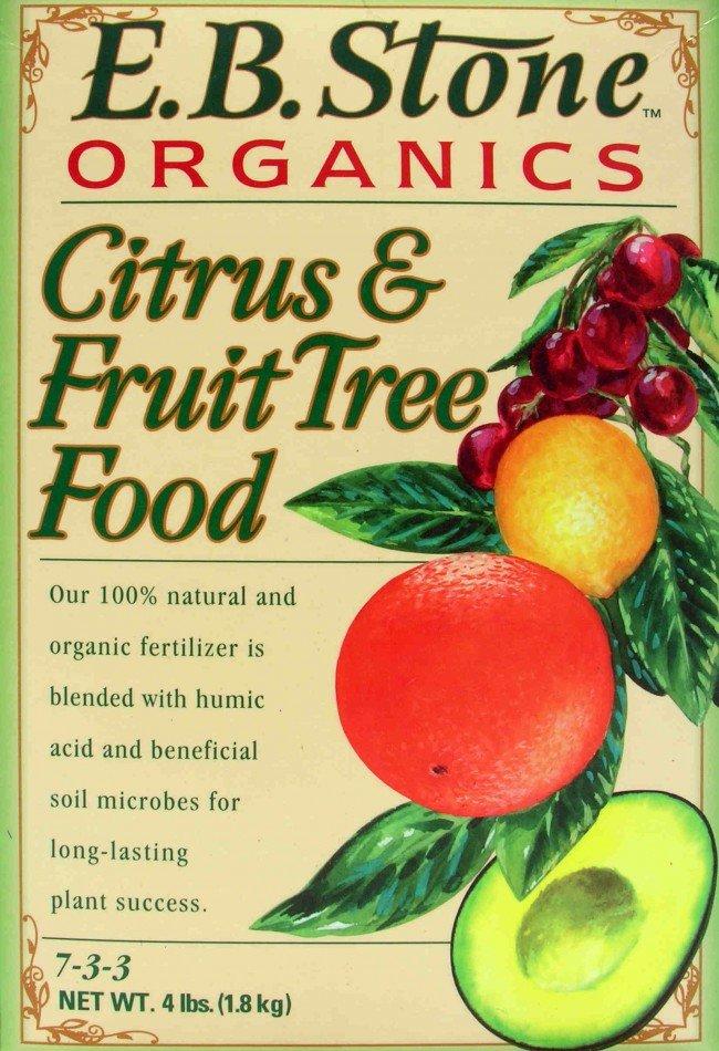 E B Stone Organics Citrus Fruit Tree Food