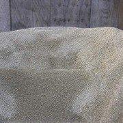 three eighths inch gravel bulk mound