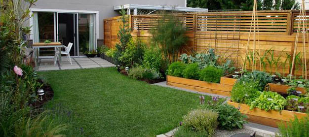 vegetable gardens for small yards